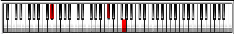 Eb7 Piano Chord Voicing
